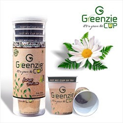Greenzie Chamomile Instant Green Tea(Just Add Hot Water To Make Tea)