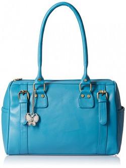 Butterflies Women's Handbag (Sky Blue) (BNS 0259SBL)