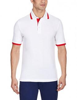 Puma Mens ESS Pique Red Tipping Polo T-Shirt (Medium)