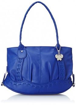 Butterflies Women's Handbag (Blue) (BNS 0236)