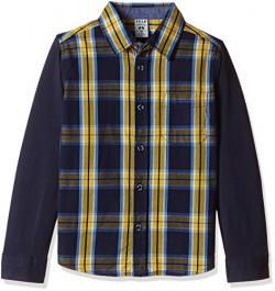 Sela Boys' Shirt (H-712/445-6322-83DU_Navy EN_5)