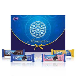 Cadbury Oreo Moments Assorted Crème Biscuit Diwali Gift Box, 1.2 kg