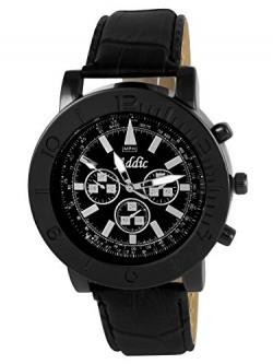 Addic analogue black Dial Men's Watch