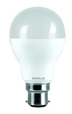 Havells Lumeno Base B22 10-Watt Ball LED Lamp (Cool Day Light)