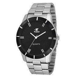 Espoir Round Analog Black Dial Men's & Boy's Watch - ESP2365