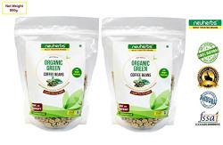 Neuherbs Green Coffee beans - 800g ( Pack of 2 )