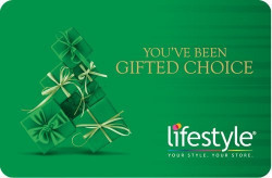 Lifestyle Gift Card (250, Pack of 3)