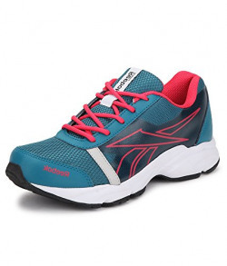 Reebok Women's Sonic Run Dark Green, Pink,Silver,White And Black Running Shoes - 6 UK