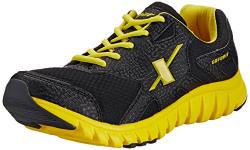 Sparx Men's Black and Yellow Mesh Running Shoes (SX0185G) - 8 UK