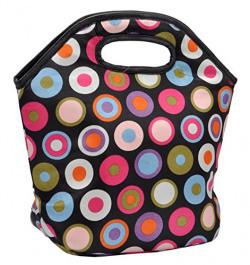Marine Pearl Stain Free Insulated Waterproof Premium Polka Dot Lunch Bag