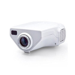 JHMART Projector Led For Home And Office Flying 1-100  Led For TV,DVD,PC With SD,USB,AV in VGA,HDMI,COAXIAL TV NW Portable Home Cinema Theater HD Portable Projector