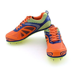 Vector X Bolt Spike Running Shoes, Size 8