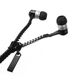 rasu Noise Cancellation 3.5 mm Jack Earphone ||Headphone [[zipperBlkA106]]