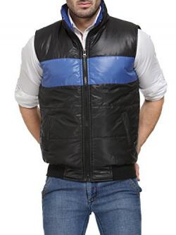 TSX Men's Nylon Sleeveless Jacket TSX-HLFQUILT-3-M
