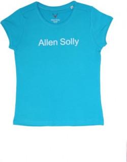 Allen Solly Girls Printed Cotton T Shirt