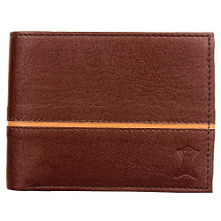 Creature Dark Brown Bi-fold Wallet/Purse With Multiple Card Slots For Men/Boys With Coin Pocket(Color -Brown || B-001)