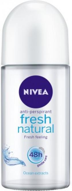 Nivea Fresh Natural Deodorant Roll-on  -  For Women