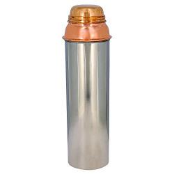 KaBi Imperial Copper Fridge Bottle, 950ml, Reddish Brown