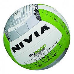 Nivia Pu-5000 Pu-18P Volleyball, Size 4