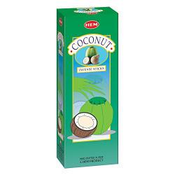 Hem Coconut  Incense Sticks(9.3 cm X 6.0 cm X 25.5cm, Black )