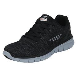 Red Tape Men's Black Running Shoes - 6 UK / India (40 EU)(RSC0381)