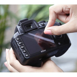 Mobstar Ultra Clean Screen Guard For Canon Eos 1200D (Dslr)+(Wet Professional Screen Cleaning Paper+Dry Professional Screen Cleaning Paper)