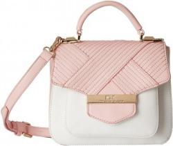 Diana Korr Women Pink PU Sling Bag
