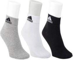 Adidas Black, White, Grey Uniform Sock