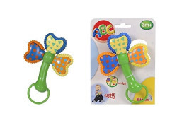 Simba ABC Twist Teether, 1 Assortment, Multi Color