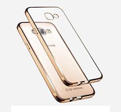 Premsons Samsung Galaxy A7 / A710 Back Cover Electroplating Soft TPU Case - Gold