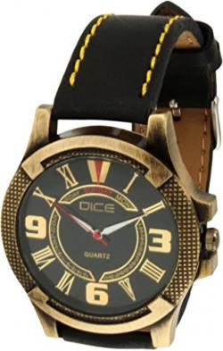 Dice Analogue Black Dial Men's Watch (BRS-B056-0704)