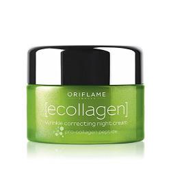 Oriflame Ecollagen Wrinkle Correcting Night Cream 50g