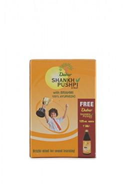 Dabur Shankh Pushpi Syrup - 225ml with 125ml