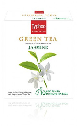 Typhoo Green Tea, Jasmine, 20g (10 Tea Bags)