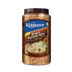Kohinoor Brown Basmati Rice Jar, 1kg