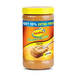 Sundrop Creamy Peanut Butter, 462g with Free Peanut Butter, 46g