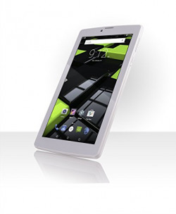 FUSION5 Tablet (7 inch, 16GB, Wi-Fi+ 3G+ Voice Calling, Bluetooth, FM, IPS Screen, High Quality Leather Case Included), White