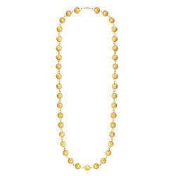 Shining Jewel 24K Gold Plated Ball Chain Mala For Women (SJ_2229)