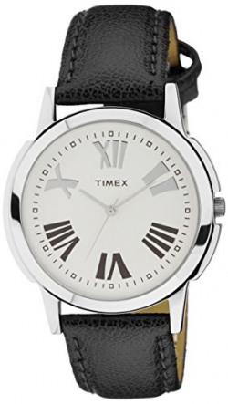 Timex Analog Silver Dial Men's Watch - TW002E118