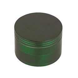 Metier 50mm Metal Herb Crusher with Honey Dust Filter (5 cm x 5 cm x 5 cm, Green)