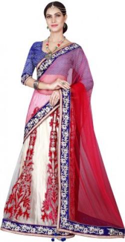 Divastri Embroidered Bollywood Net Saree