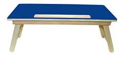 Wood-O-Plast TAB17 Multipurpose Table (Matte Finish, Blue)