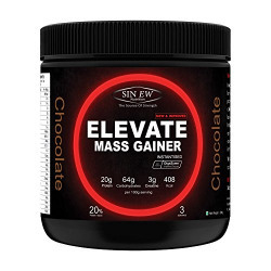 Sinew Nutrition Elevate Mass Gainer - 300 g /0.66 lbs (Chocolate Flavour)