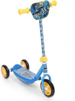 Batman Batman Three Wheel Scooter (Blue & Yellow)
