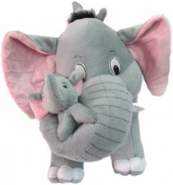 AVS Soft Elephant with Baby 40cm  - 40 cm