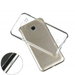 Enthopia Ultra Thin Uncrackable Transparent Flexible HARD BACK CASE Cover for Samsung Galaxy On7