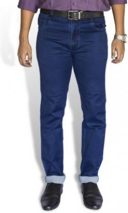 0-Degree Slim Men's Blue Jeans