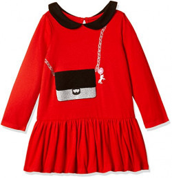 The Children's Place Girls' Dress (20685281271_China Red_4Y)
