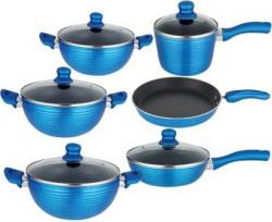 NIRLON Cooking Item Set Tawa, Pan, Kadhai Set