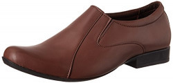 C Style Men's Brown Loafers and Mocassins - 6 UK/India (40 EU)(ERC027)
